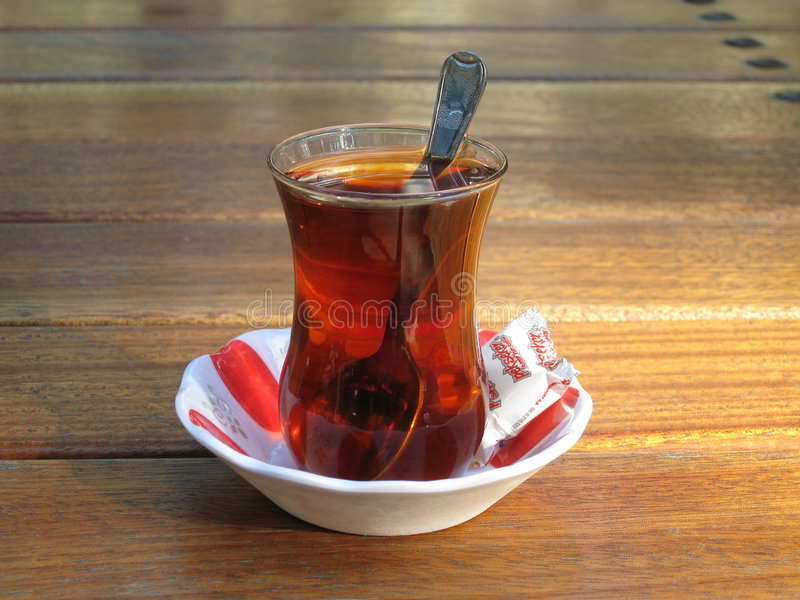 turecka herbata zdjęcia royalty free