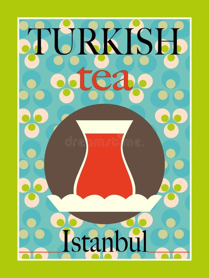 Turecka herbata ilustracja wektor