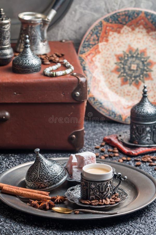 Turecka herbata i zachwyt fotografia royalty free
