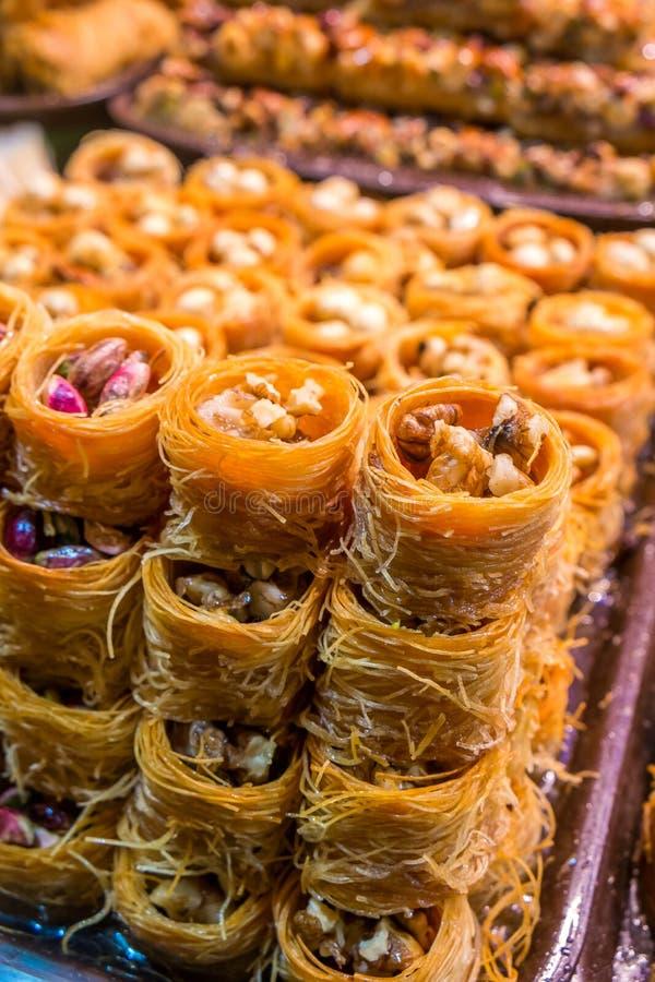 Turecki baklava zdjęcie stock