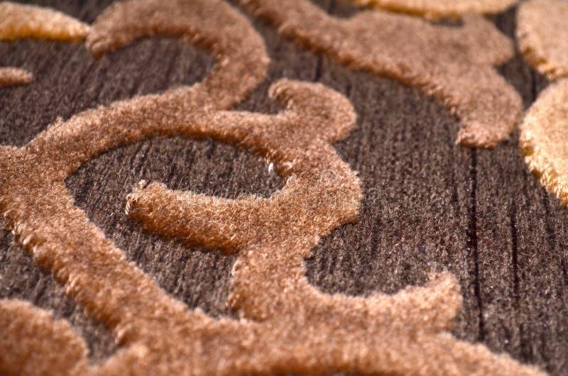Turecki dywan projektuje makro- zdjęcie royalty free