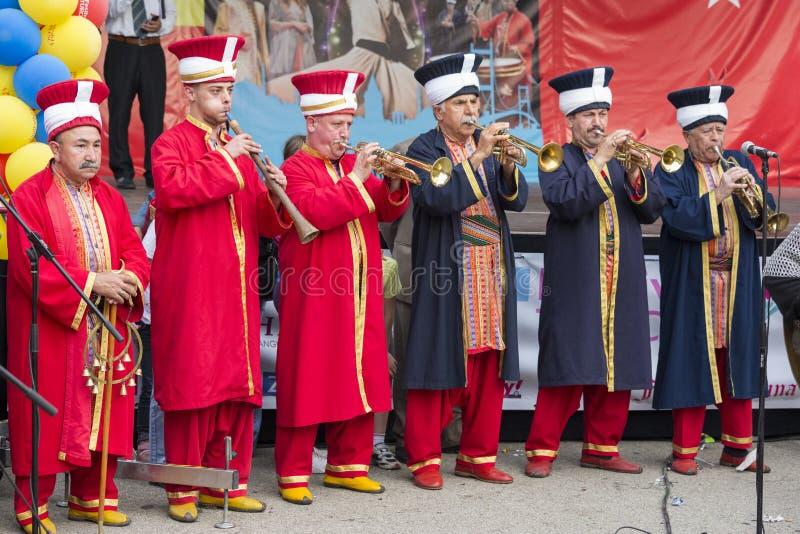 Turecki festiwal zdjęcia stock