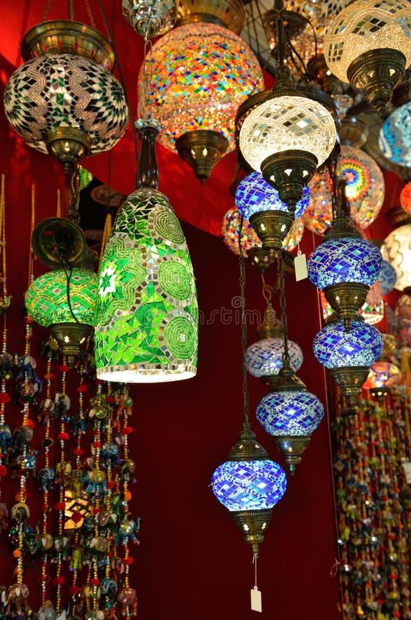 Tureckie Lampy Obrazy Stock