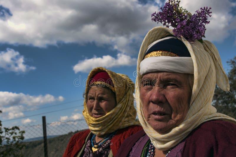 Tureckie starsze kobiety obrazy royalty free