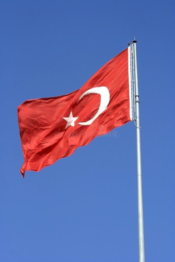 turek bandery zdjęcia stock