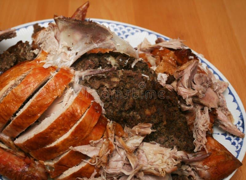 Tureky Dinner royalty free stock image