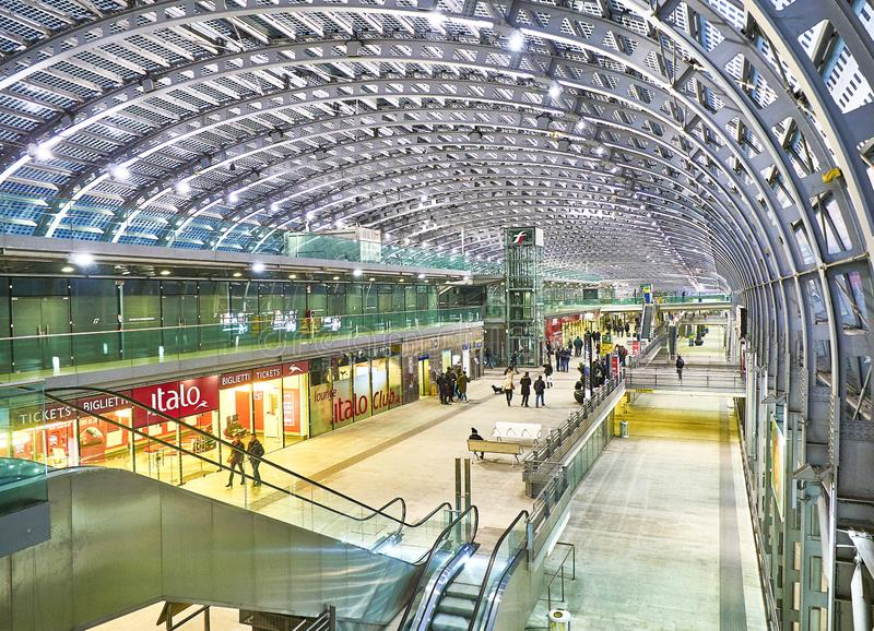 Porta Nuova Railway Station. Turin, Piedmont, Italy stock photos