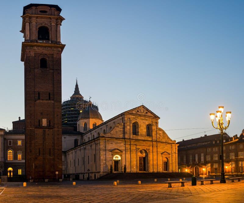 Turin-Kathedrale (Duomodi Torino) stockbild