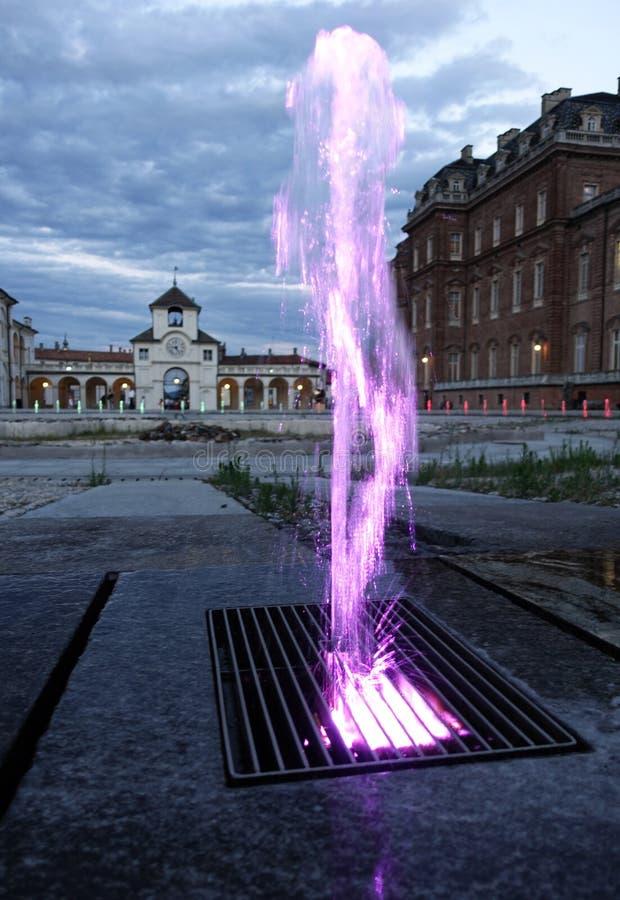 Turin o palácio real de Venaria Reale imagens de stock