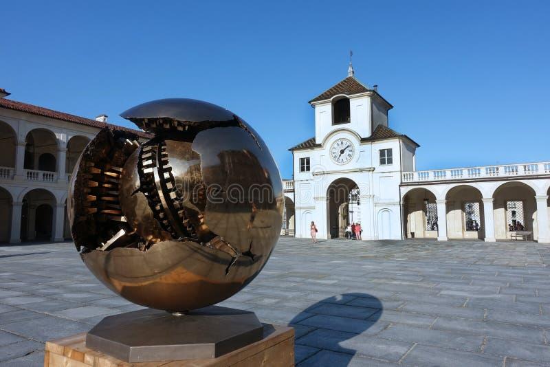 Turin o palácio real de Venaria Reale foto de stock royalty free