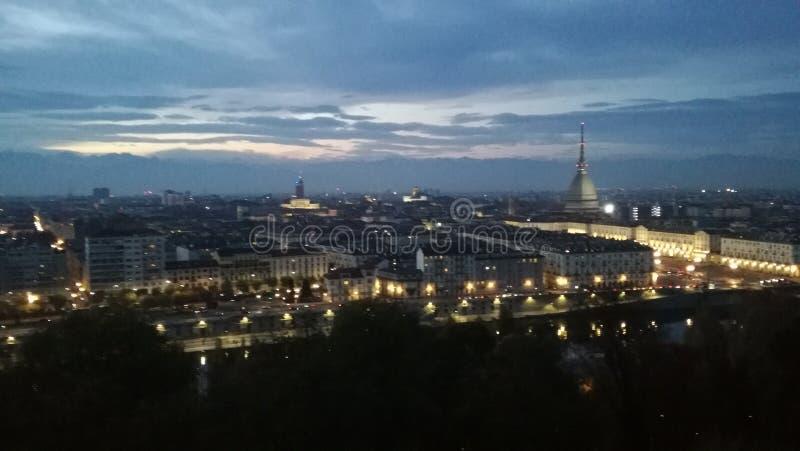 Turin-Stadt stockfoto