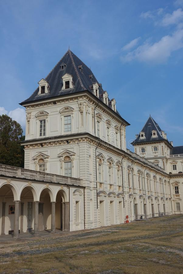 Turin the Valentino Castle royalty free stock photography