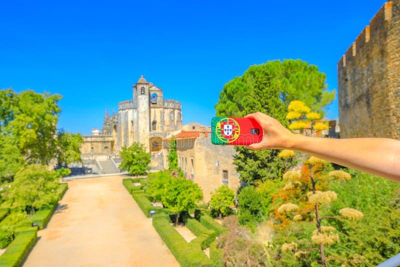 Turism i det Portugal begreppet royaltyfri fotografi
