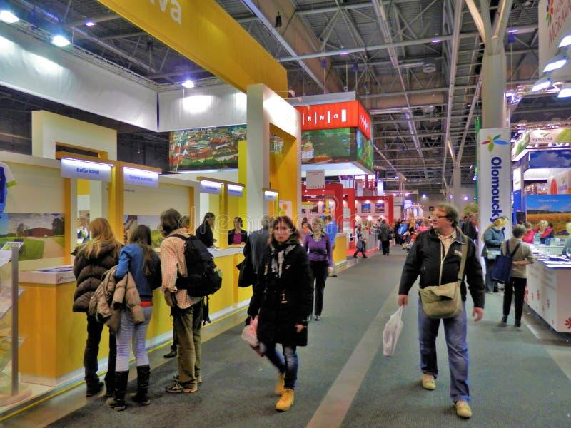 Turismmässa i Brno arkivfoto
