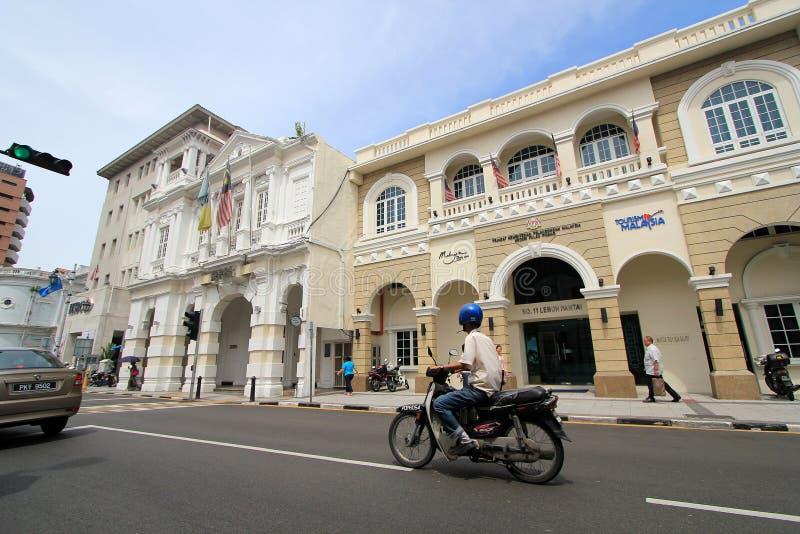 TurismMalaysia byggnad arkivfoton