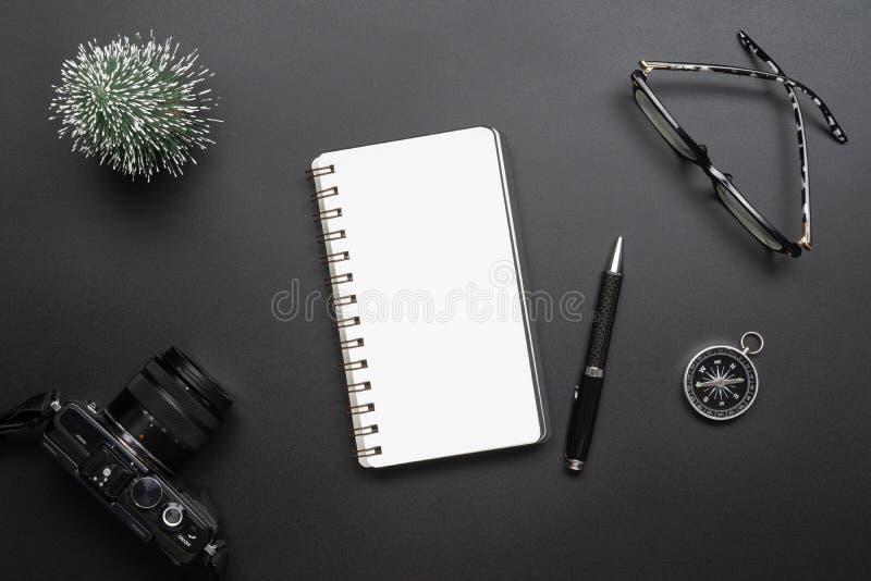 Turismo, curso, e conce do planeamento da gestão empresarial do ano novo fotografia de stock