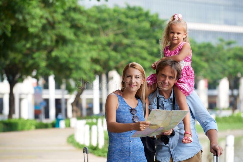 Turismo da família fotos de stock royalty free