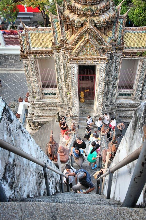 Turismo de Bangkok imagen de archivo libre de regalías