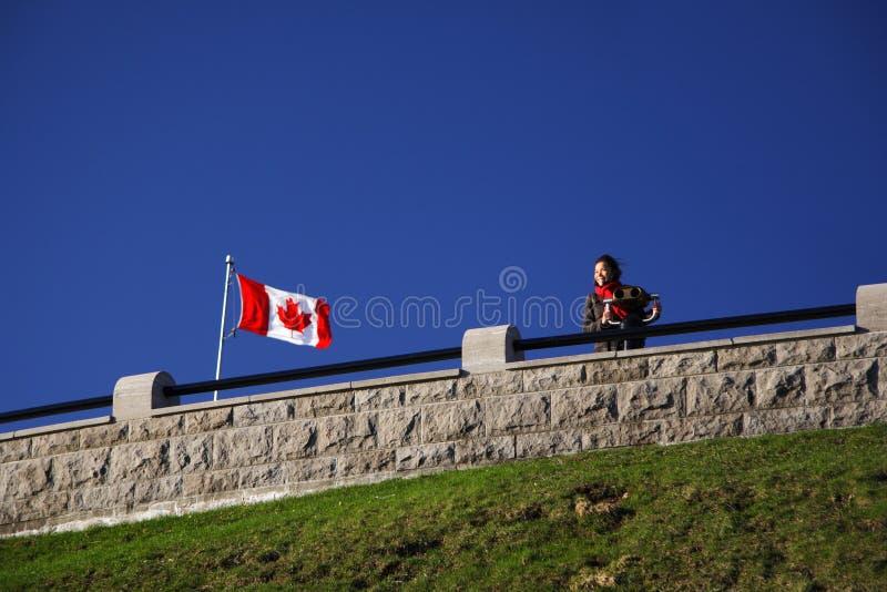 Turismo de Canadá imagen de archivo libre de regalías