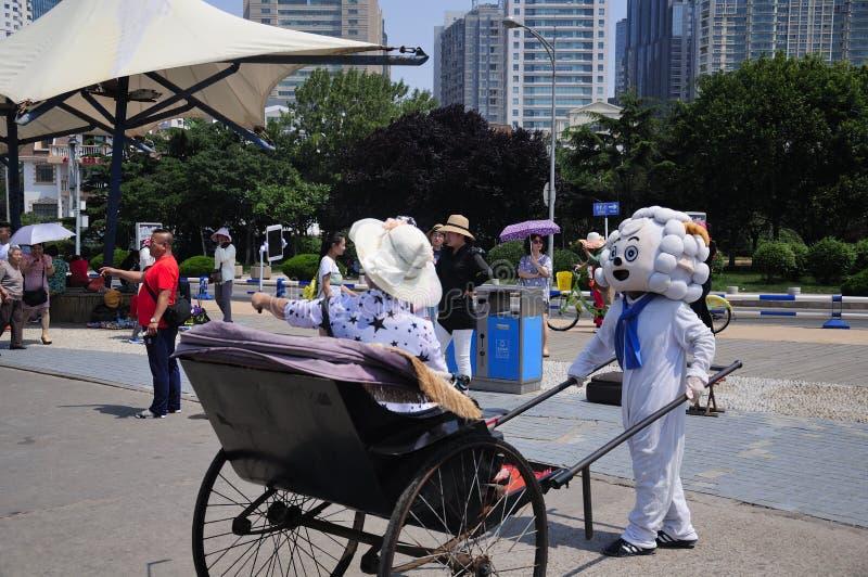 Turismo de Qingdao China imagem de stock royalty free