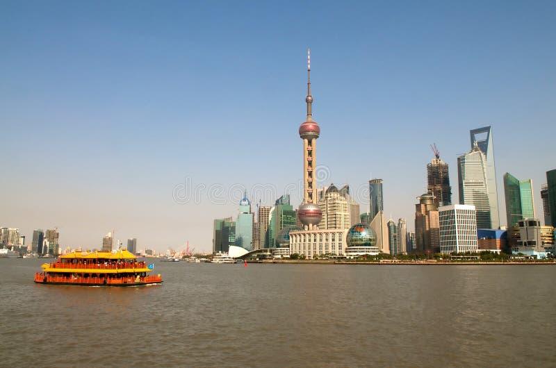 Turismo de Shanghai foto de stock royalty free