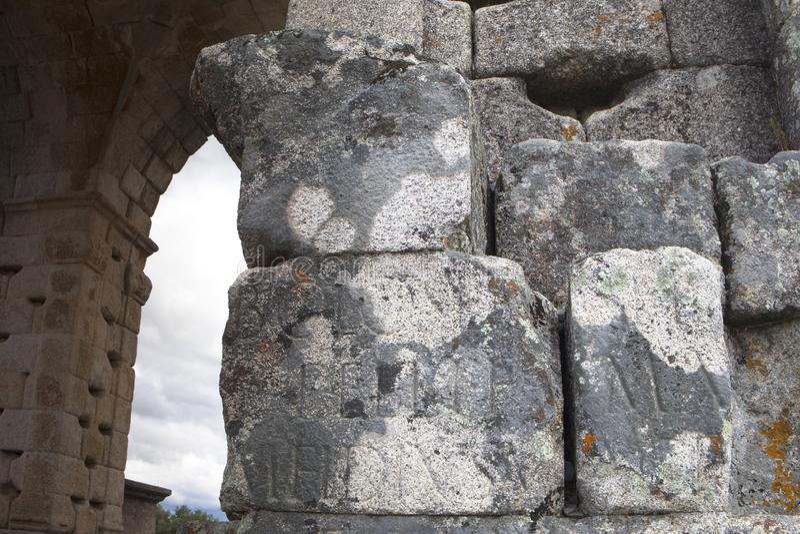 Turismo em Extremadura, Espanha fotografia de stock royalty free