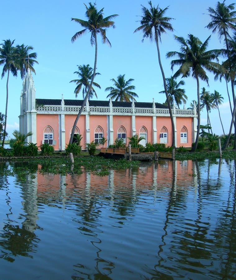 Turismo em India, um cruzeiro do riverboat fotografia de stock royalty free