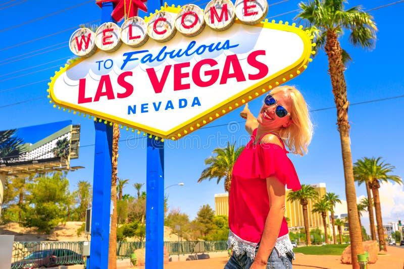 Turismo en Las Vegas fotos de archivo