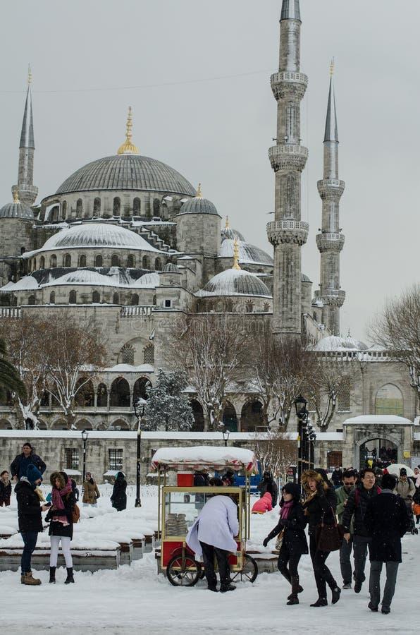 Turismo IV di inverno fotografia stock libera da diritti