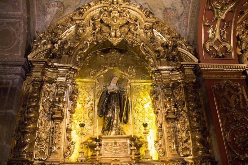 Turismo religioso em Rio de janeiro Downtown imagens de stock royalty free