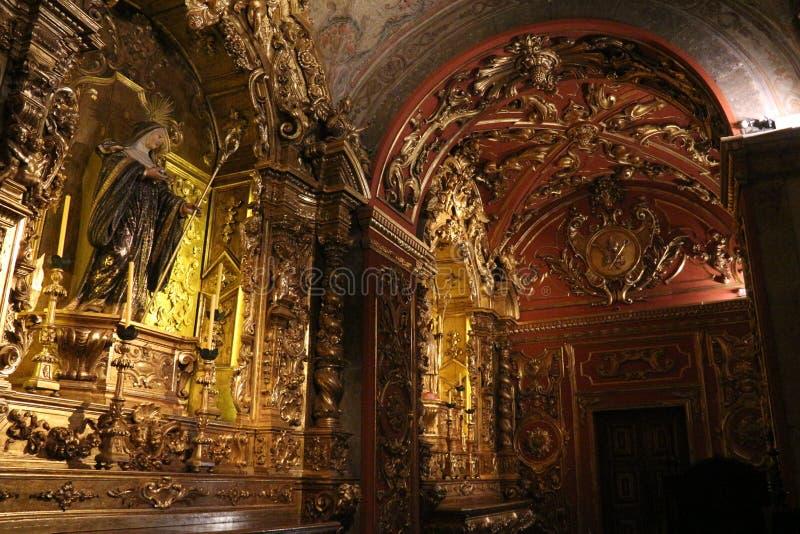 Turismo religioso in Rio de Janeiro Downtown fotografia stock