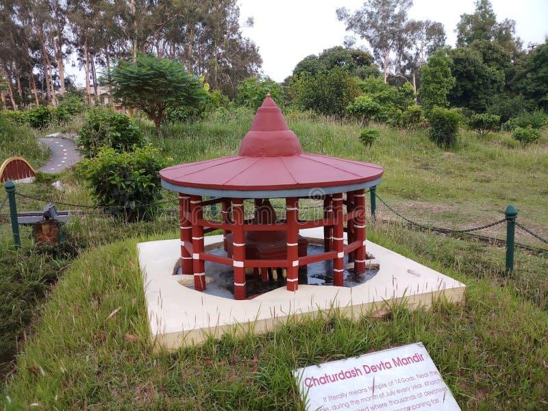 Turist- dragningar av Tripura royaltyfri foto