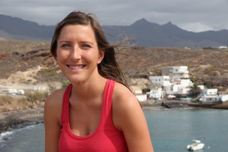 Turist i Tenerife arkivfoton