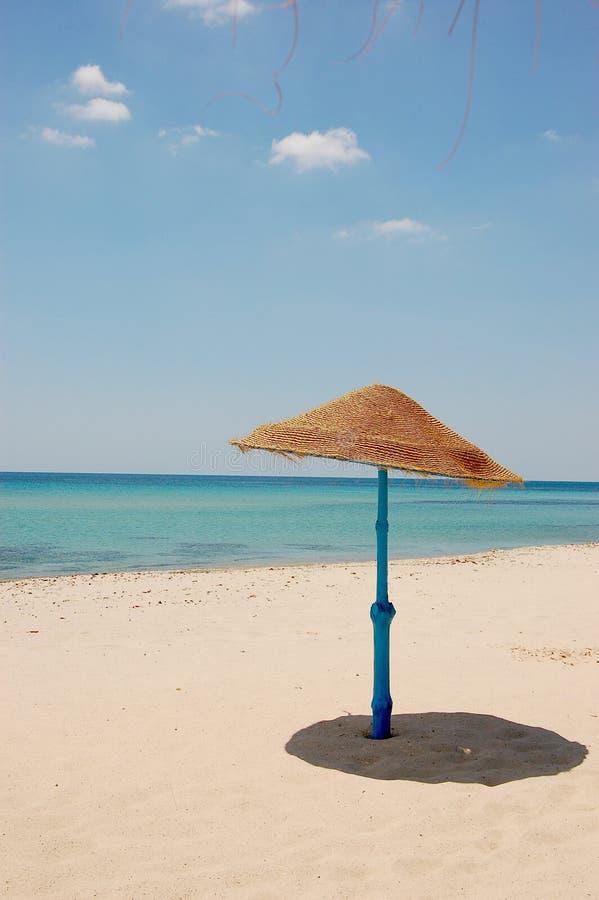 Turist- område för sommartid i Tunisien fotografering för bildbyråer