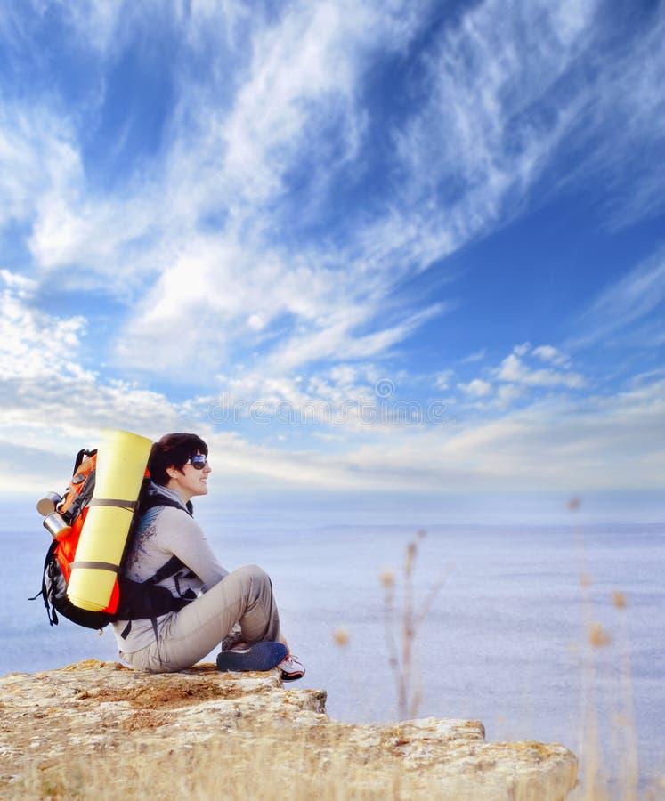 Turista fotografia stock libera da diritti