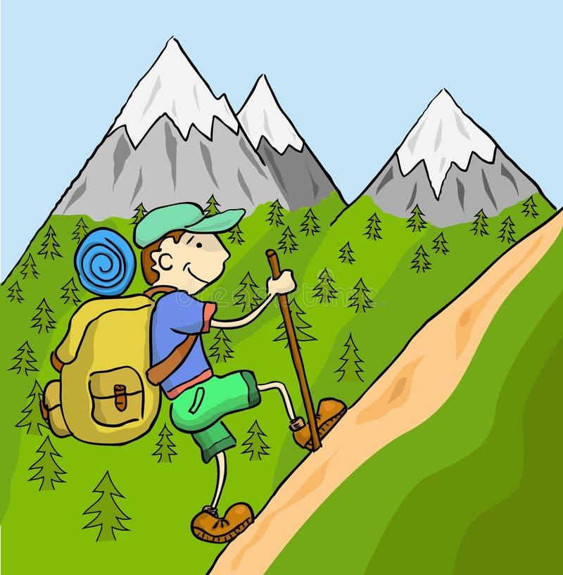 Turista libre illustration