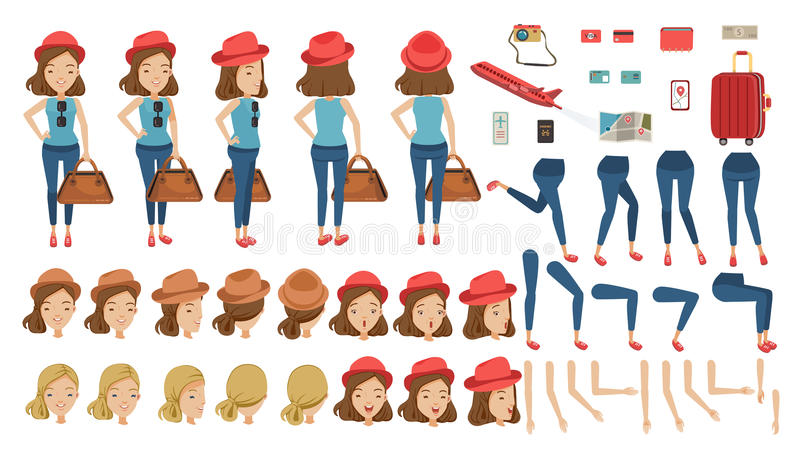 Turista libre illustration