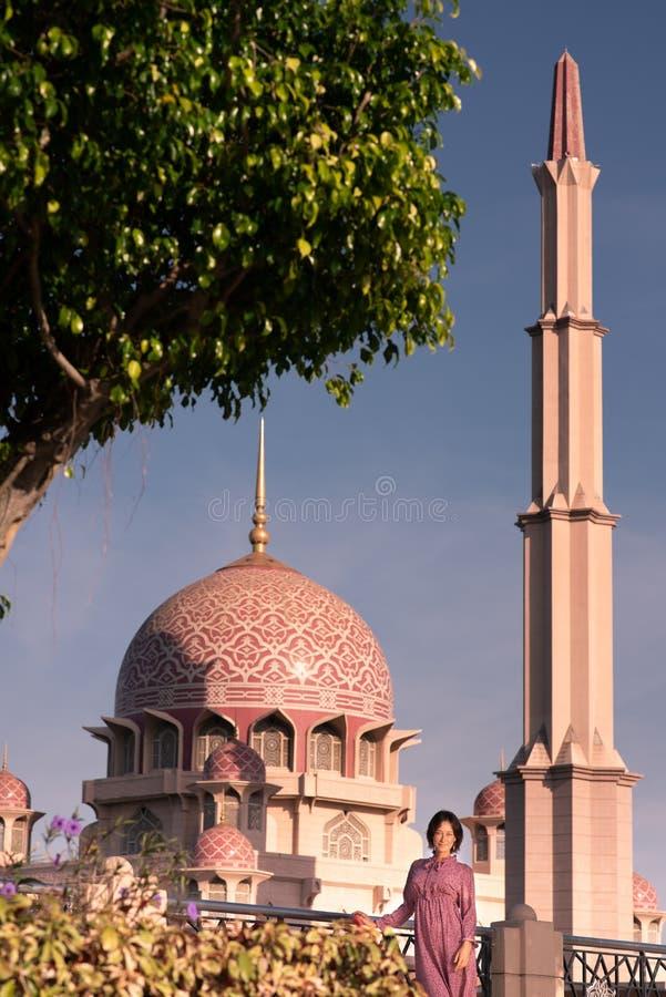 Turista caucásico en Malasia fotos de archivo libres de regalías