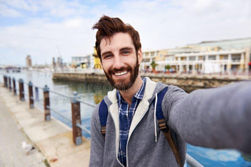 Turista de Selfie fotos de stock