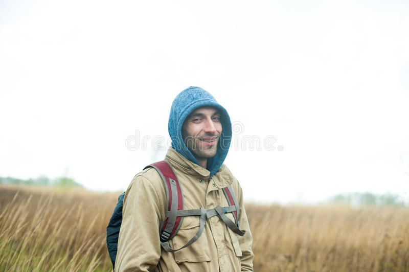 Turista del Backpacker foto de archivo libre de regalías