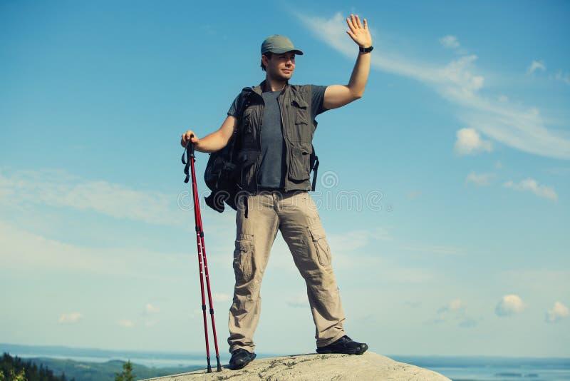 Turista del giovane fotografia stock libera da diritti
