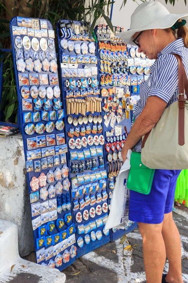 Turista della donna fotografia stock libera da diritti