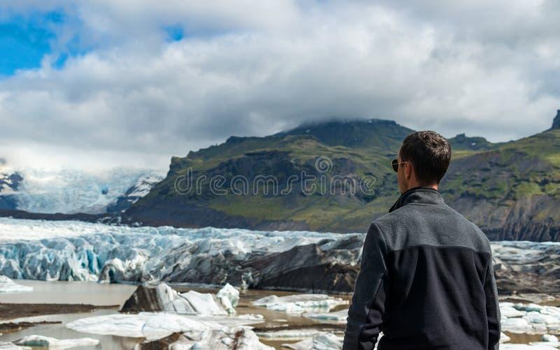 Turista en Islandia fotos de archivo libres de regalías