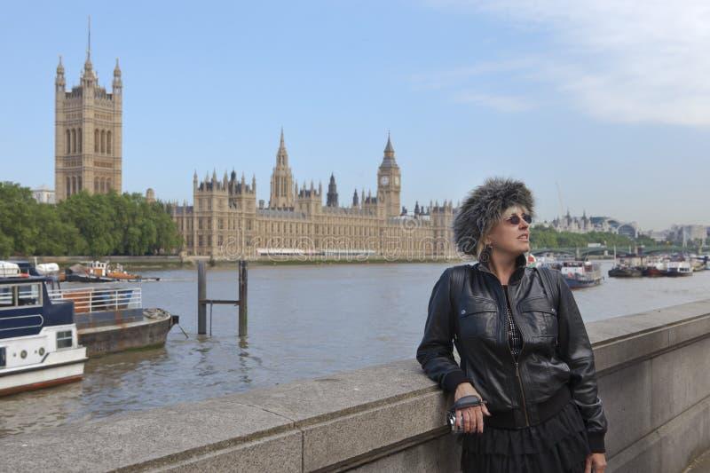 Turista en Londres fotografía de archivo libre de regalías