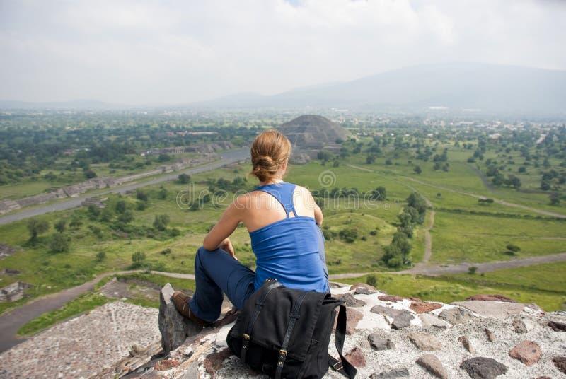 Turista nel Messico immagine stock