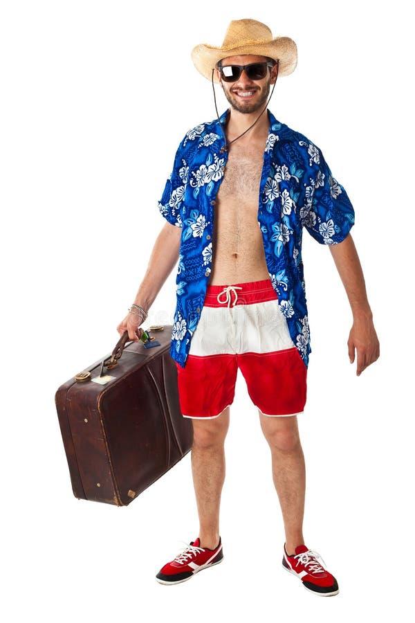 Turista stereotipato immagini stock