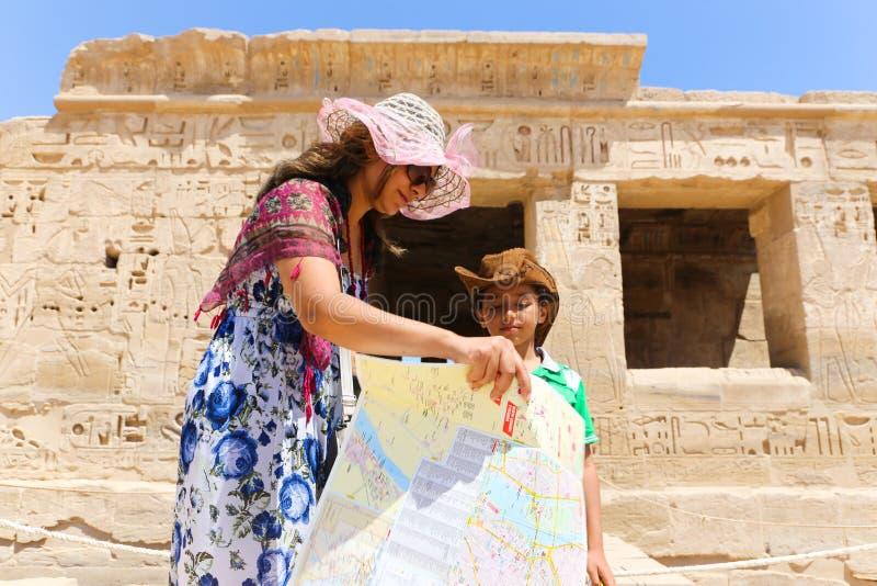 Turistas em Egito imagem de stock royalty free