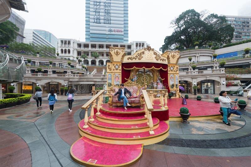 Turistas en la herencia 1881 en Hong Kong imagen de archivo