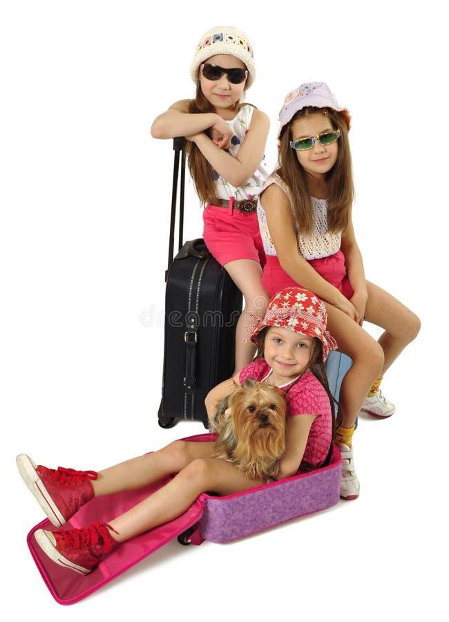 Turistas glamoroso foto de stock