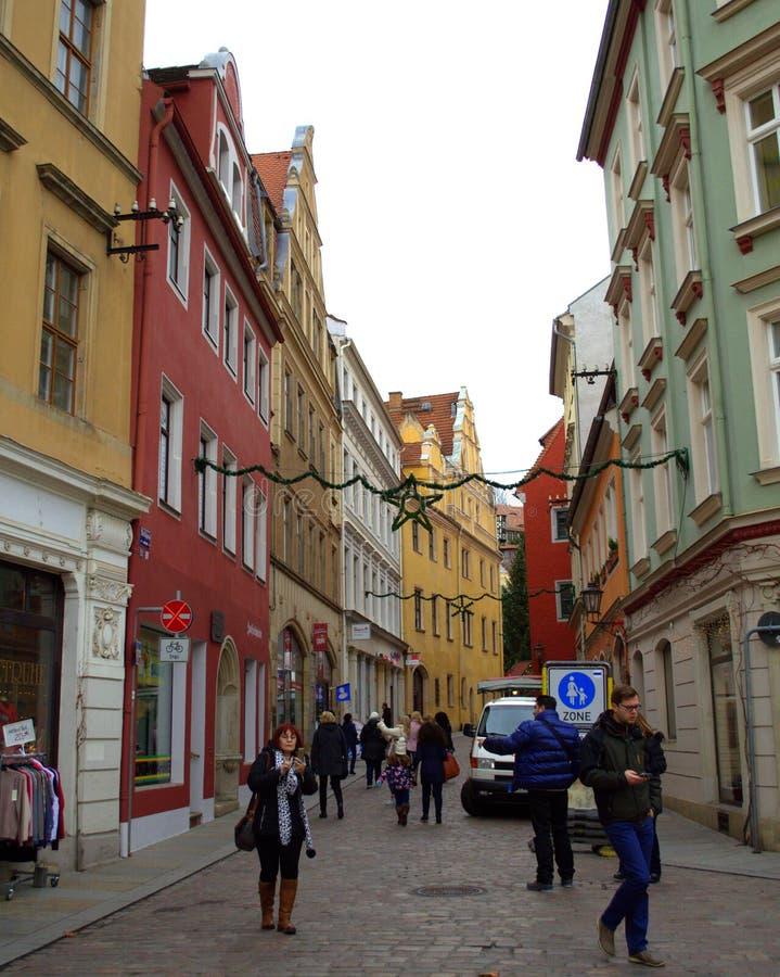 Turister i Tyskland arkivfoto
